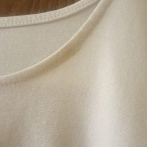 Ambiance Tops - White Peplum Top